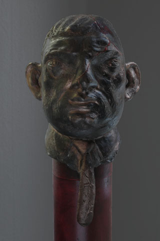 bronsskulprur, byst, porträtt
