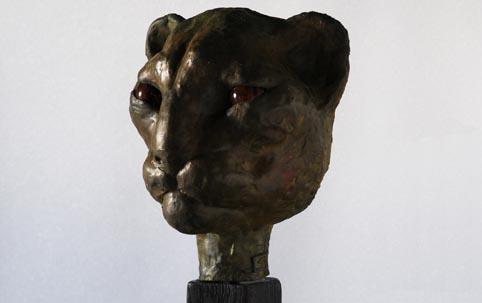 BASTET 3, brons, 25cm, 2013
