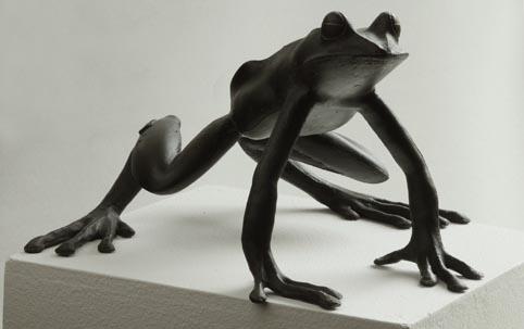 GRODA    brons, 25cm, 2013